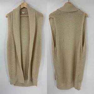 The Gap Long Cardigan Vest Jacket Sweater